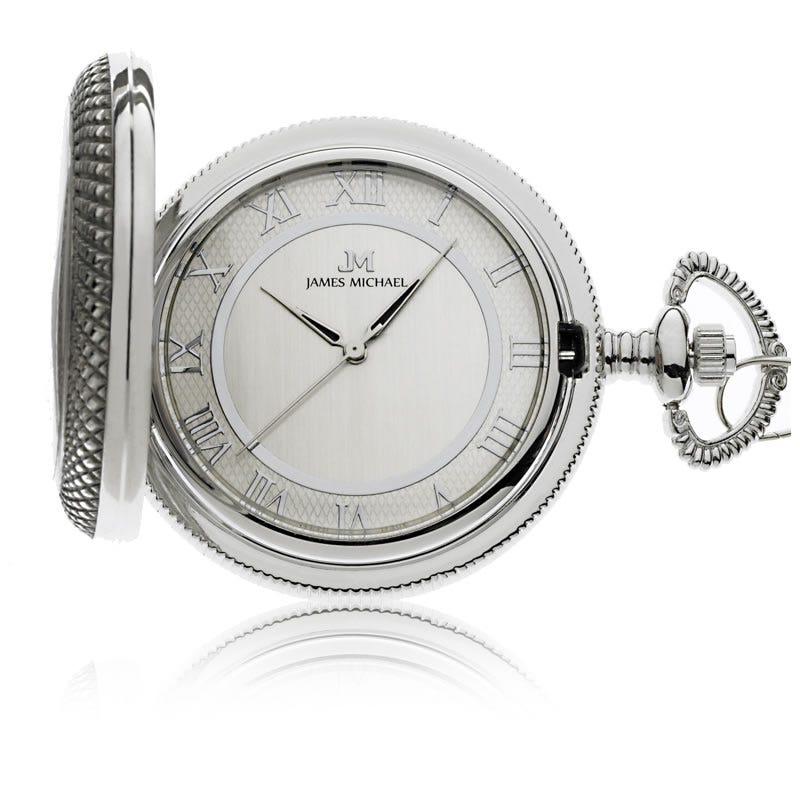 James Michael White Pocket Watch