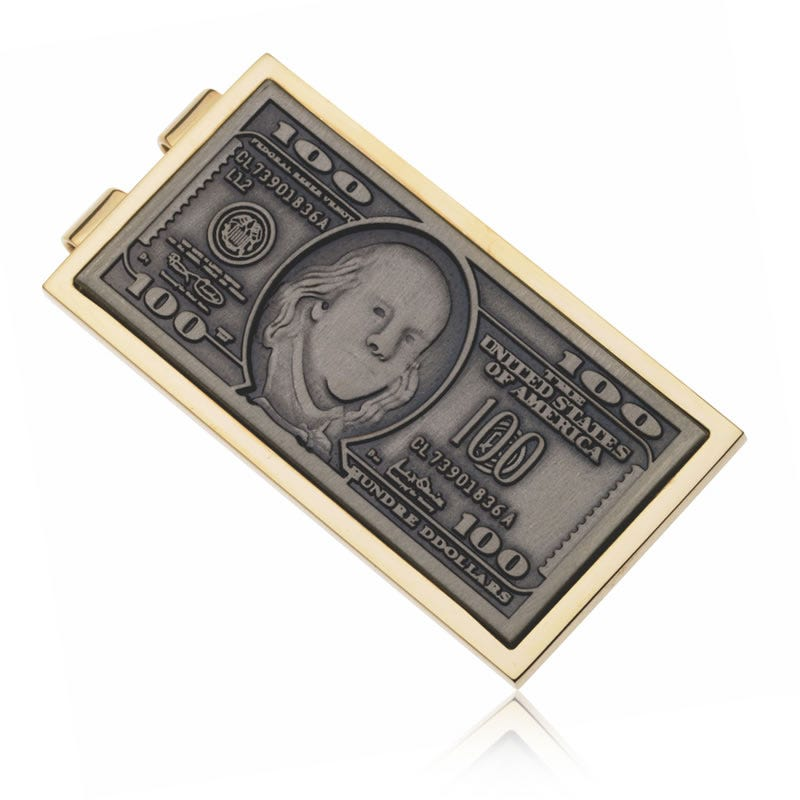 100 Dollar Bill Money Clip