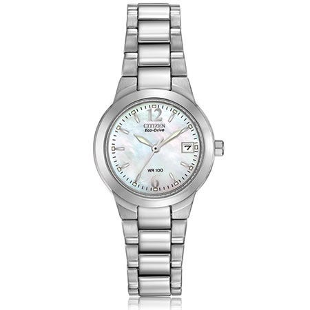 CITIZEN Eco-Drive Silhouette Watch Mother of Pearl