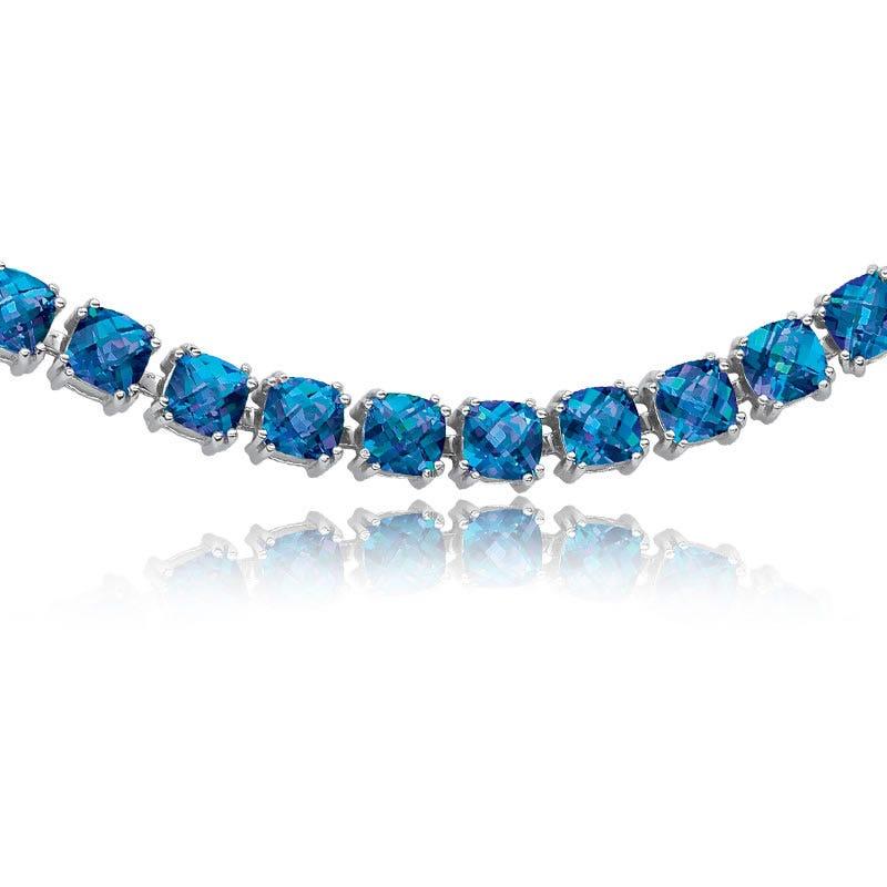 Seduction Blue Topaz Bracelet