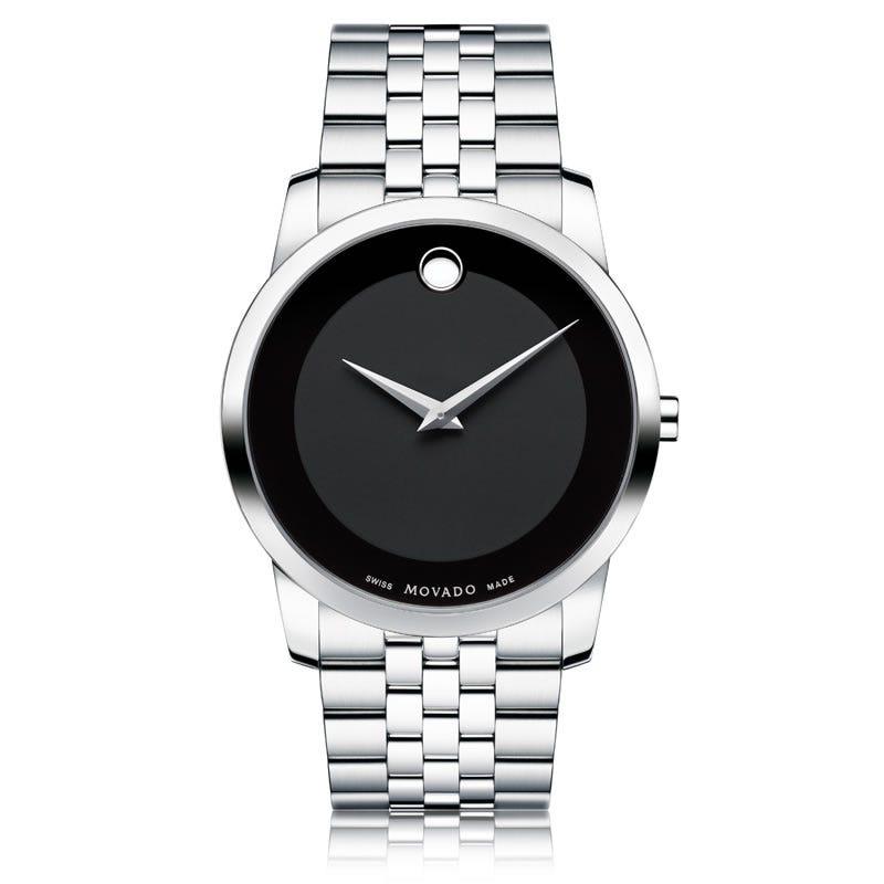 Movado Museum Classic® Black Men's Watch 606504