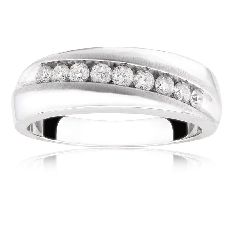 Men's Diamond Wedding Band ½ ct. T.W.