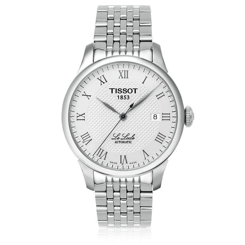 Tissot Le Locle Men's Silver Automatic Classic Watch T41148333