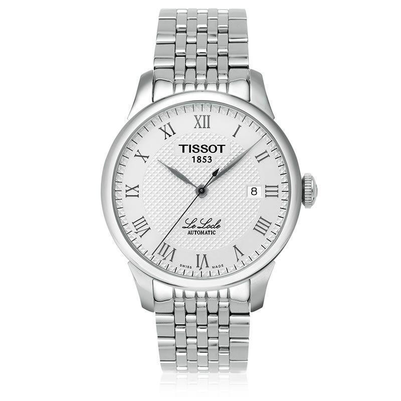Tissot Le Locle Men'S Silver Automatic Classic Watch