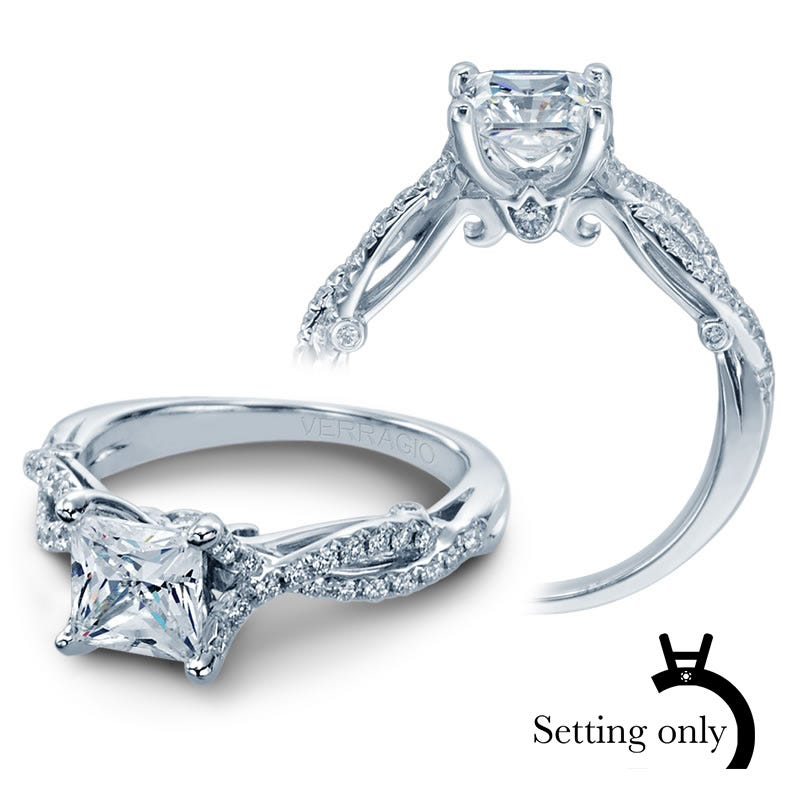 Verragio Insignia Diamond Engagement Ring Setting 7050