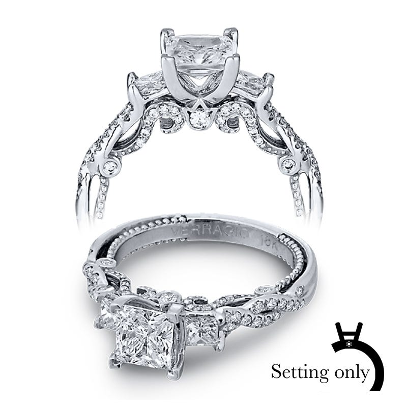 Verragio Insignia Diamond Engagement Ring Setting 7074P