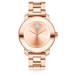 Mid-Size Movado BOLD Watch SS Rose