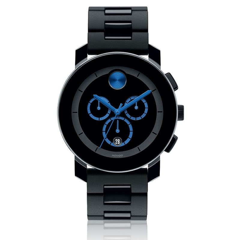 Large Movado BOLD Chronograph Museum Dial 3600101
