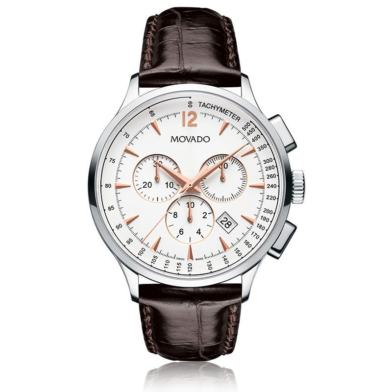 Movado Circa™ Men's White Watch 606576