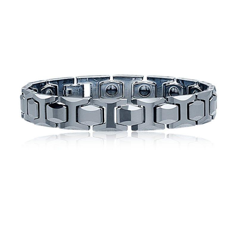 Men's Magnetic Link Tungsten Bracelet