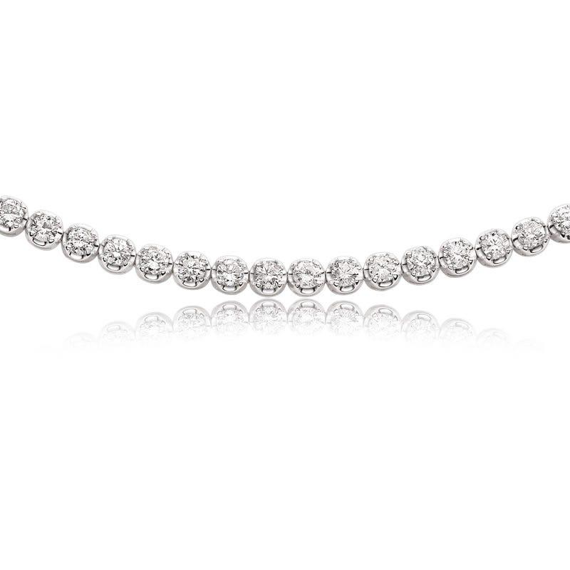 Diamond Tennis Bracelet 5ctw.