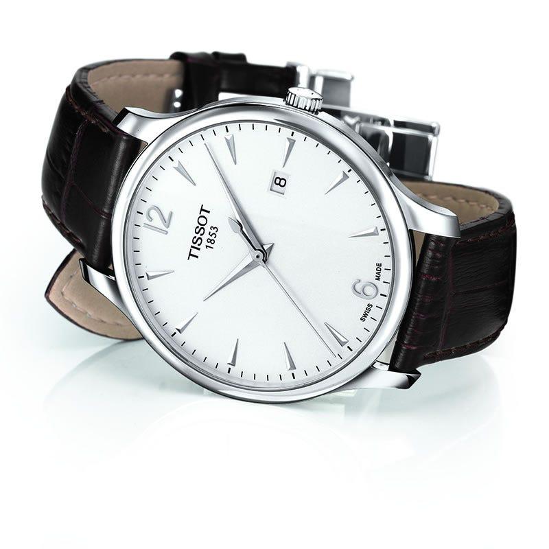 Tissot Tradition Men's Silver Quartz Classic Watch T0636101603700