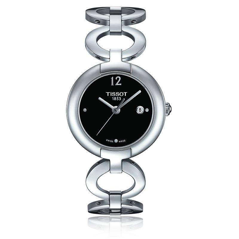 Tissot Pinky Ladies Black Quartz Watch