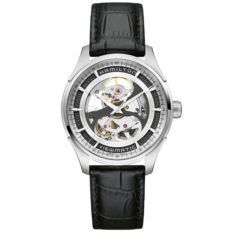 Hamilton Jazzmaster Viewmatic Skeleton Gents Auto H42555751