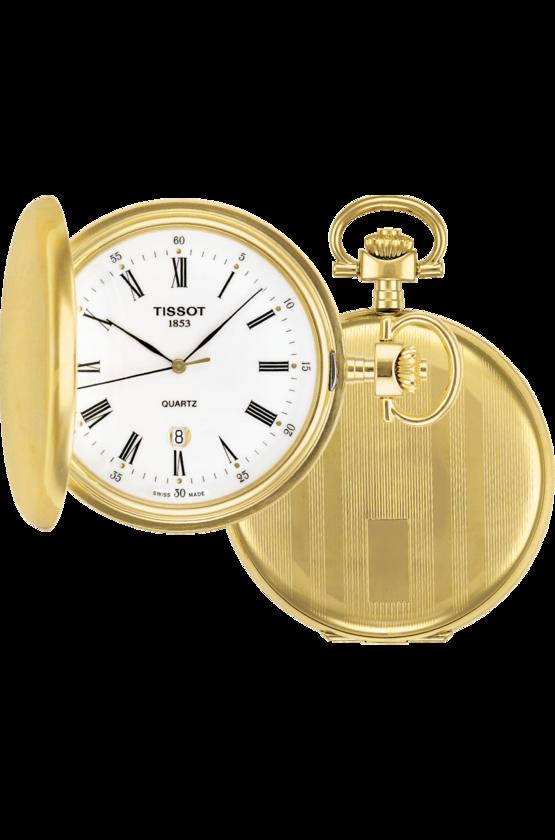 Tissot Pocket Watch Savonnette Mechanical Hunter Pocket Watch T83455313