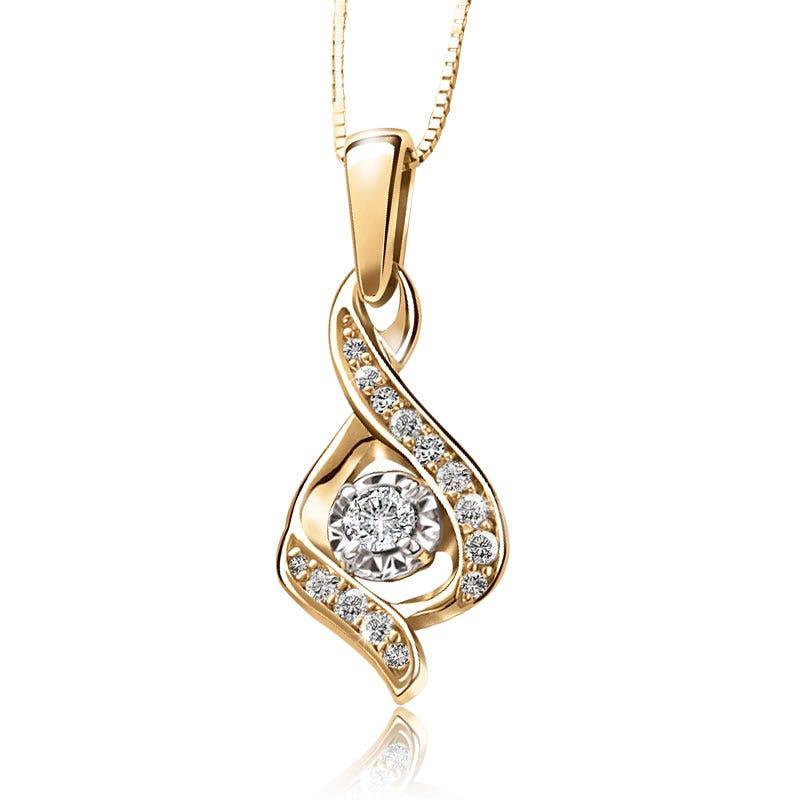Sirena Diamond Pendant 1/7ct. T.W.
