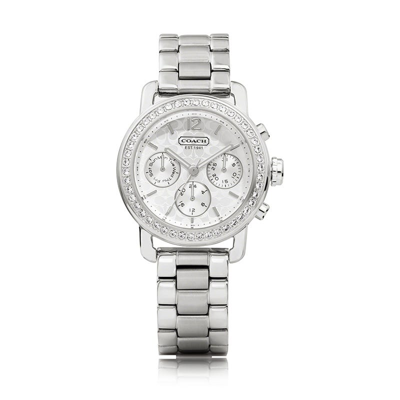 Coach Legacy Sport Small Chronograph with Swarovski Crystals