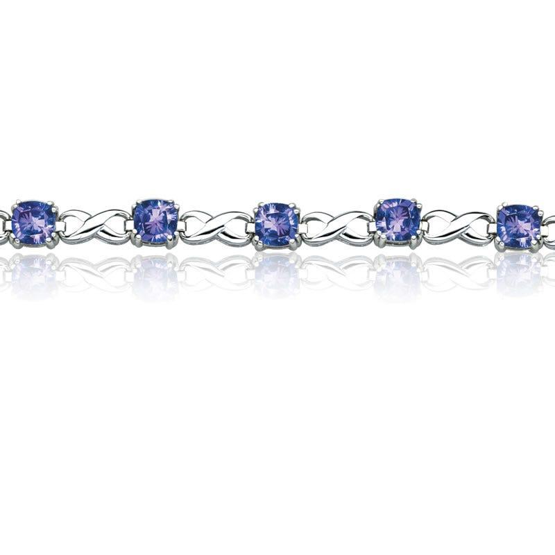 Royal Radiance Infinity Bracelet