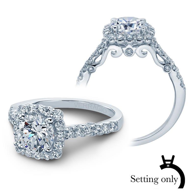 Verragio Insignia Diamond Engagement Ring Setting 7047