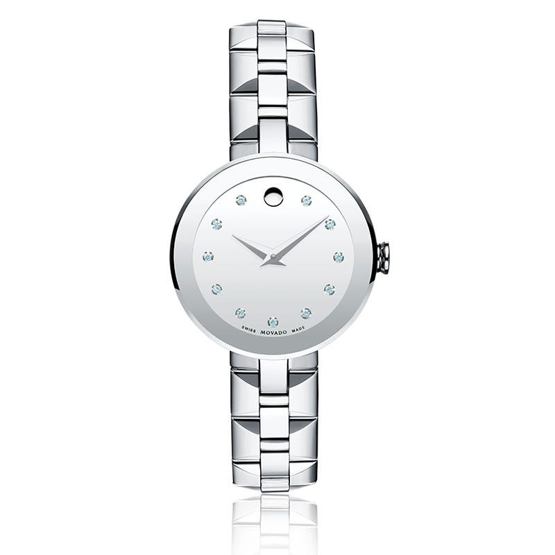 Movado Sapphire Ladies Watch 606814