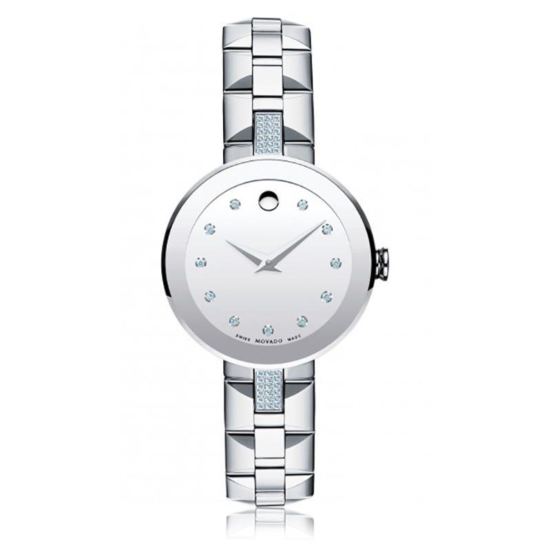 Movado Sapphire Ladies Watch 606815