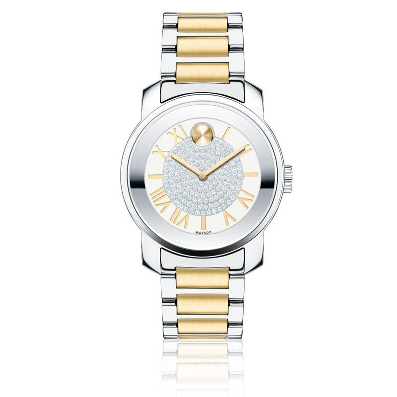 Movado BOLD Luxe Watch SS White 3600256