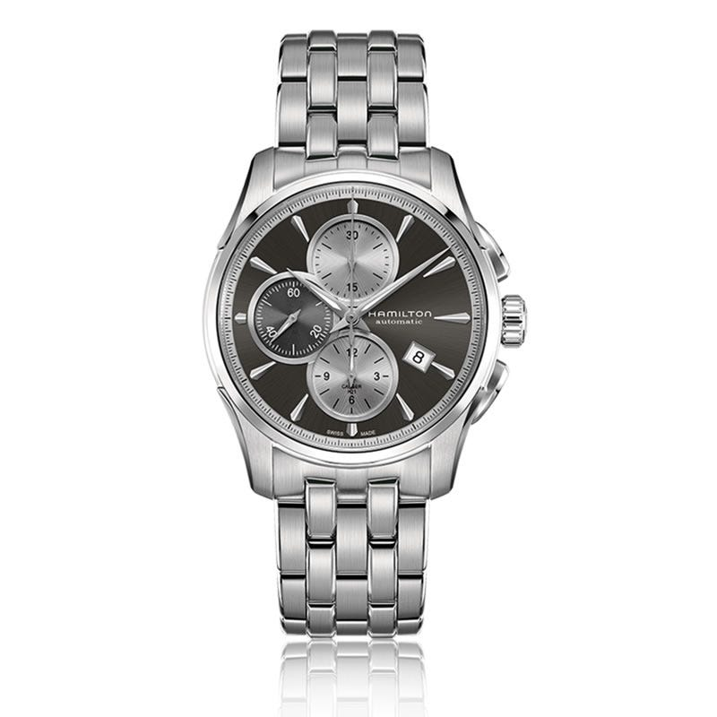Hamilton Jazzmaster Auto Chrono Stainless Steel Watch H32596181