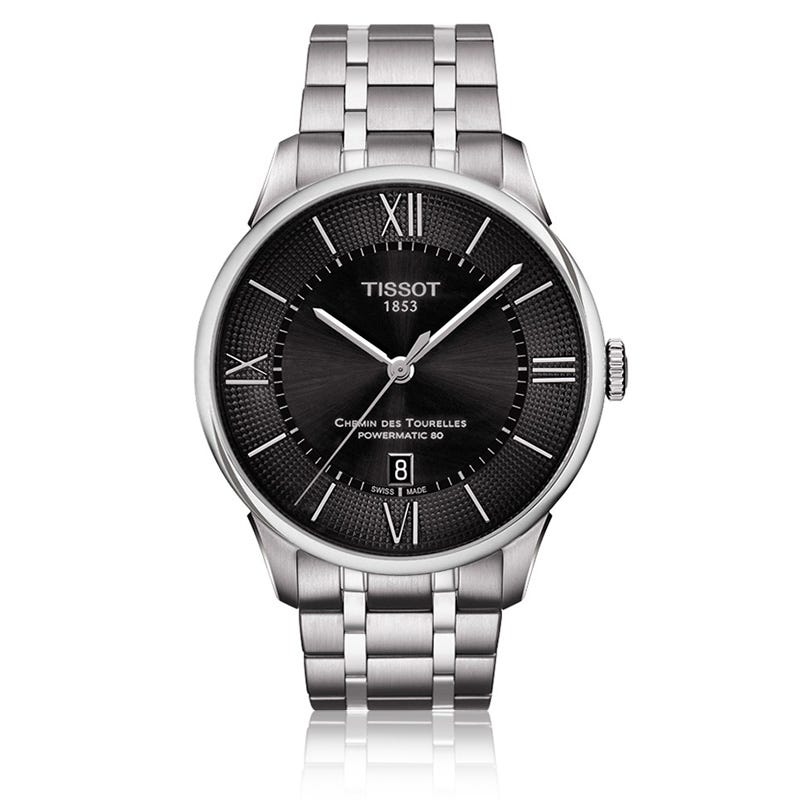 Tissot Chemin Des Tourelles Powermatic 80 Men's Stainless Steel Watch T0994071105800
