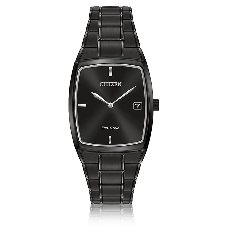 CITIZEN Men's Eco-Drive Grey Dial Dress Watch