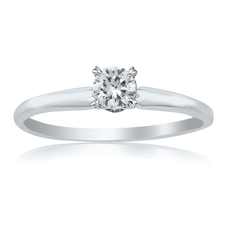 Diamond Round 1/2ct. 'Your Choice' Solitaire Engagement Ring