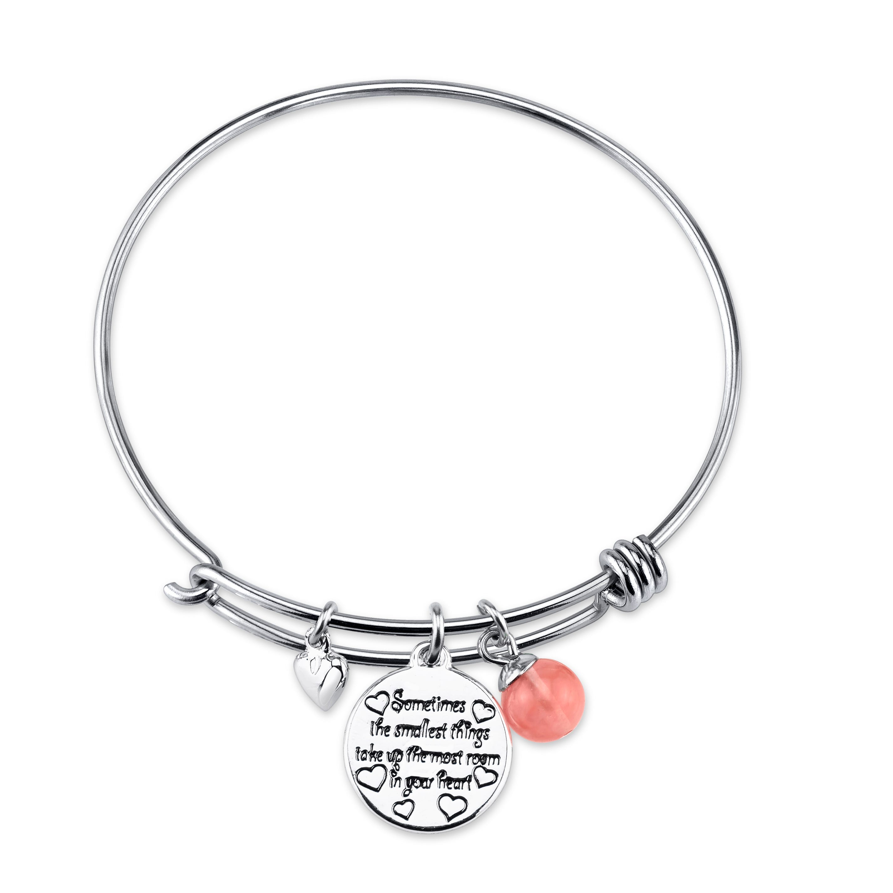 DISNEY© Winnie the Pooh The Smallest Things Sterling Silver Bangle