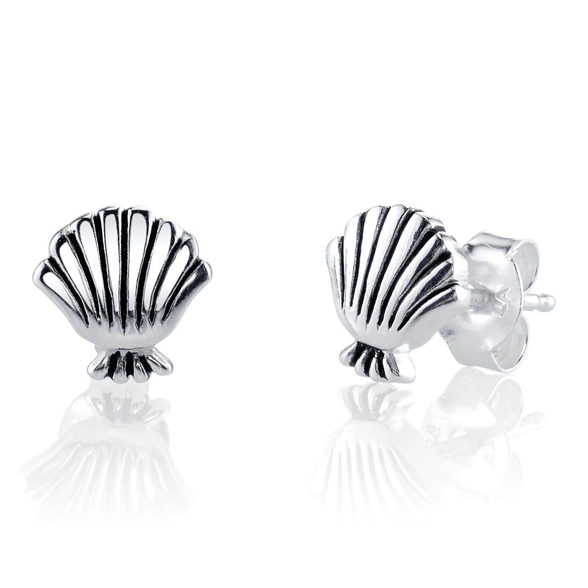 Disney© Little Mermaid Seashell Stud Earrings