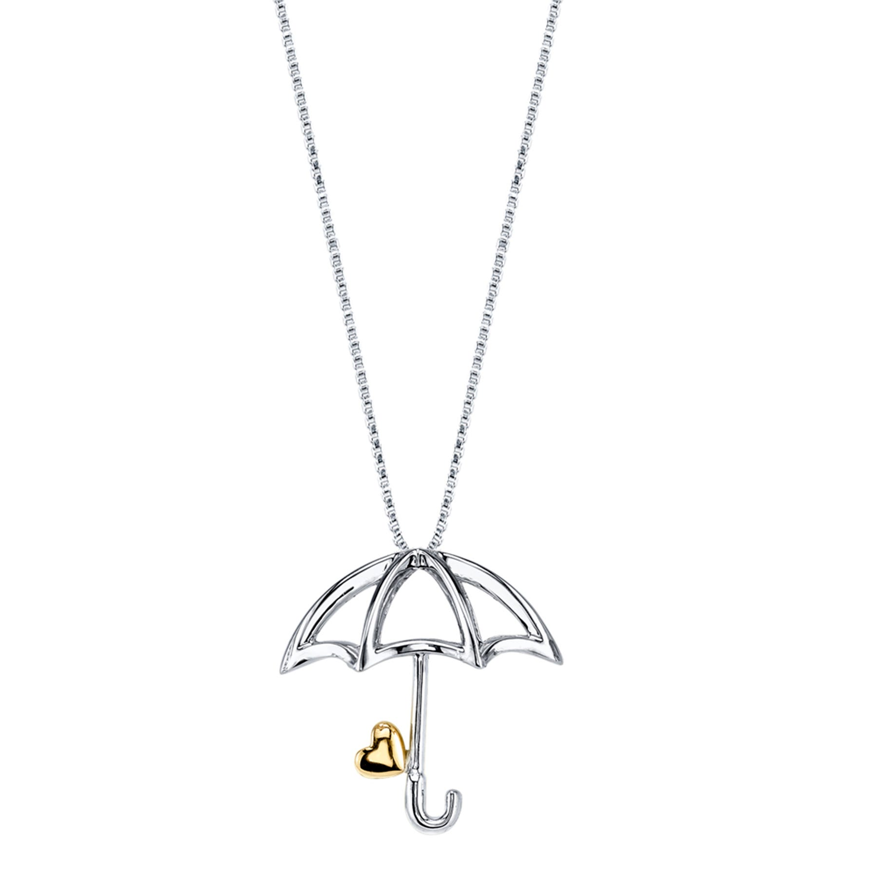 DISNEY© Pinocchio Two-Tone Umbrella Necklace