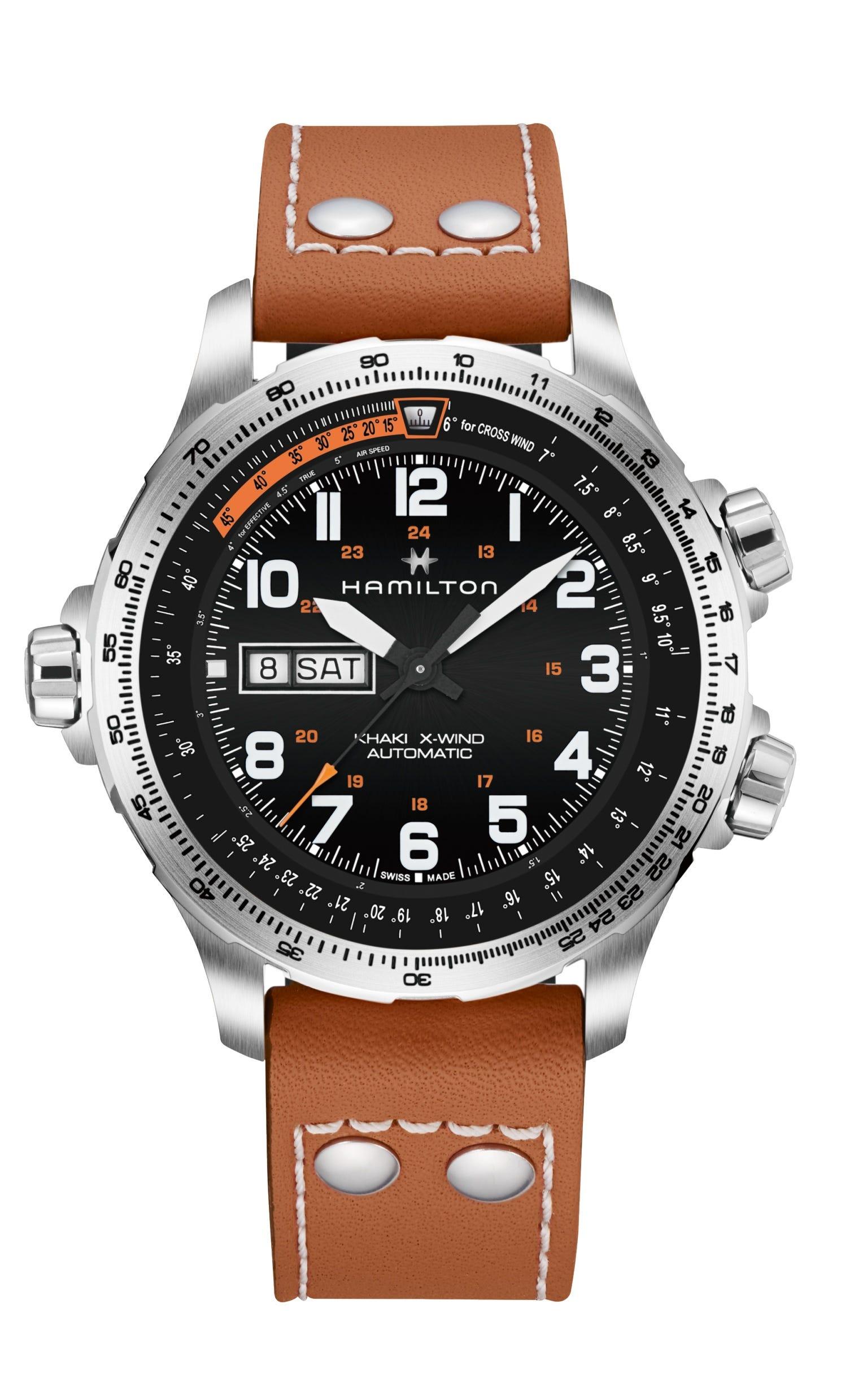 Hamilton Khaki Aviation X-Wind Day Date Automatic Watch H77755533