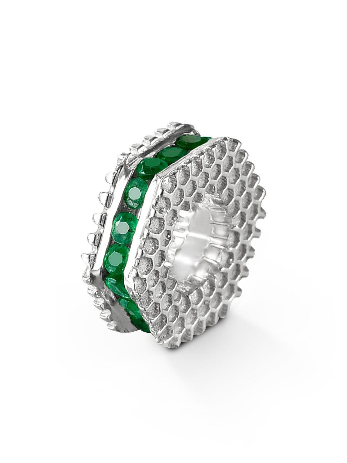 Mini May Emerald Keepsake Slider