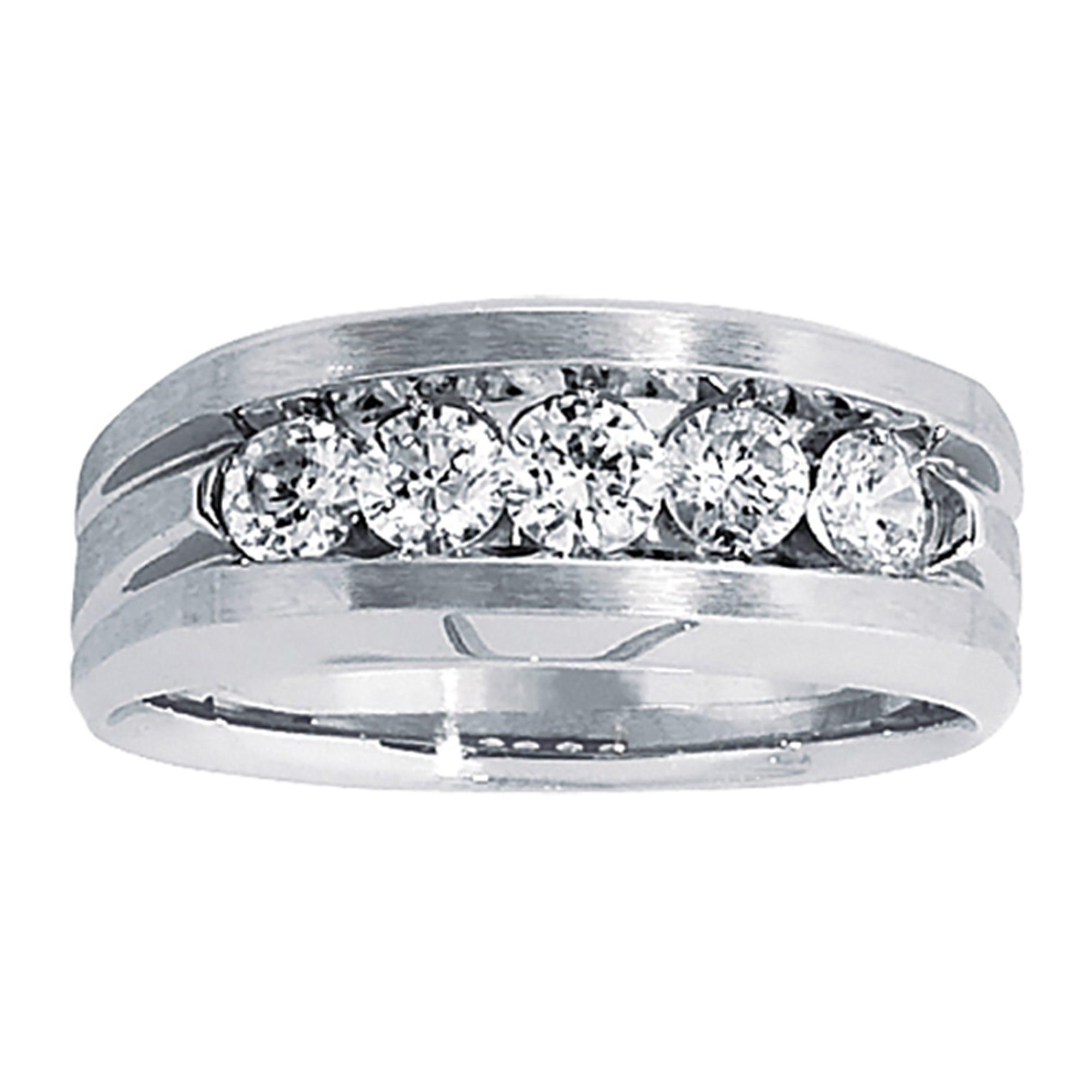 IBGoodman 5-Stone 1ctw. Diamond Ring in 10k White Gold