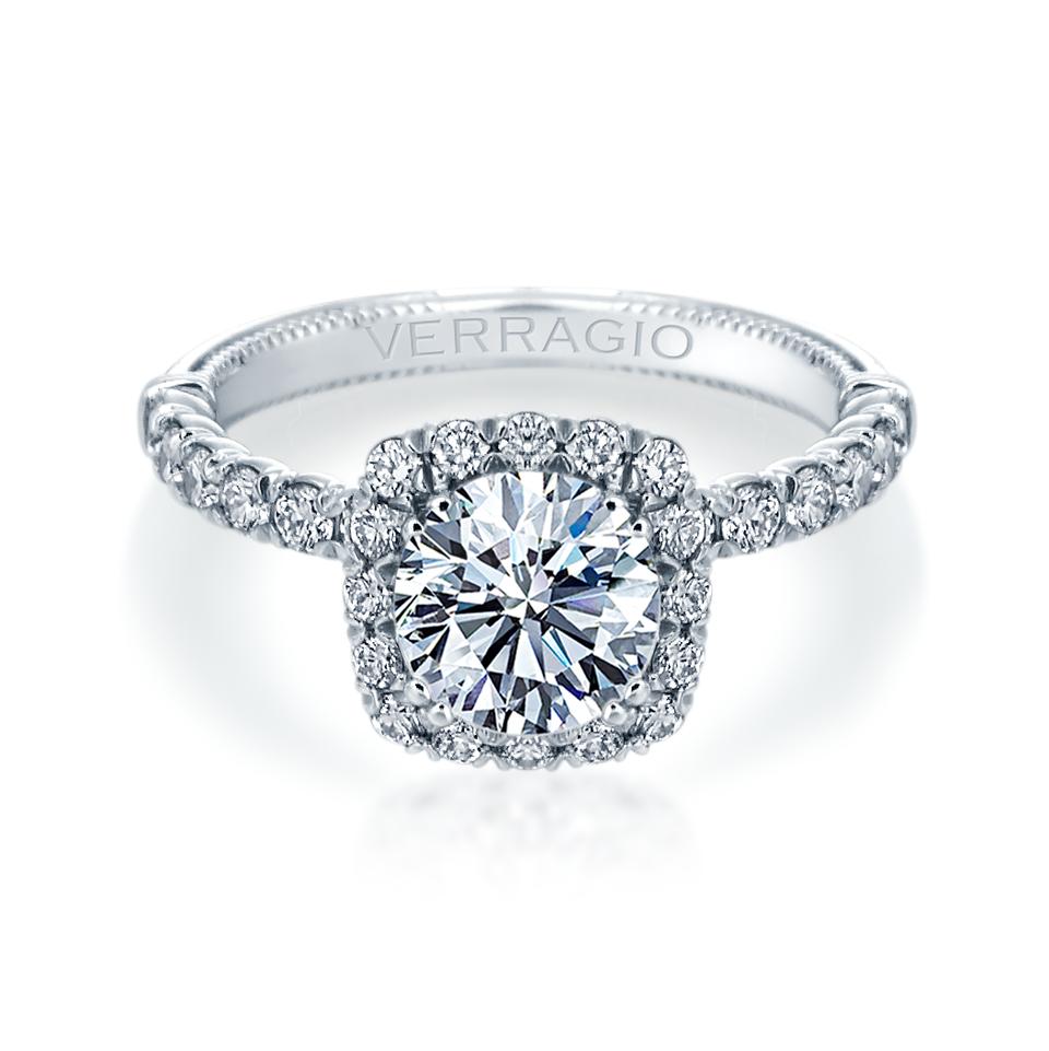 Verragio Renaissance Diamond Engagement Ring Setting  V-954CU18