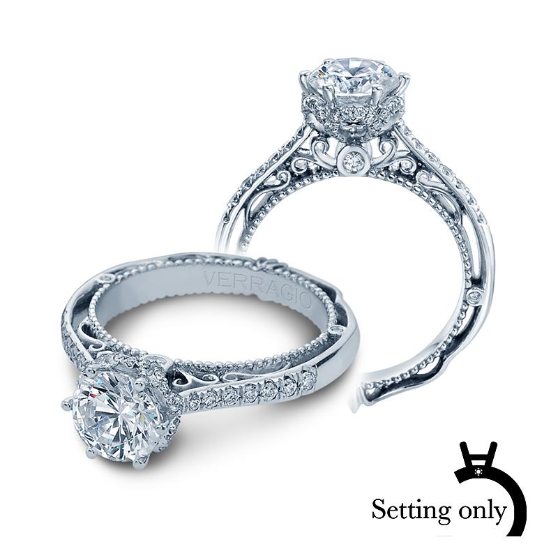 Verragio Venetian Diamond Engagement Ring Setting-5052-0