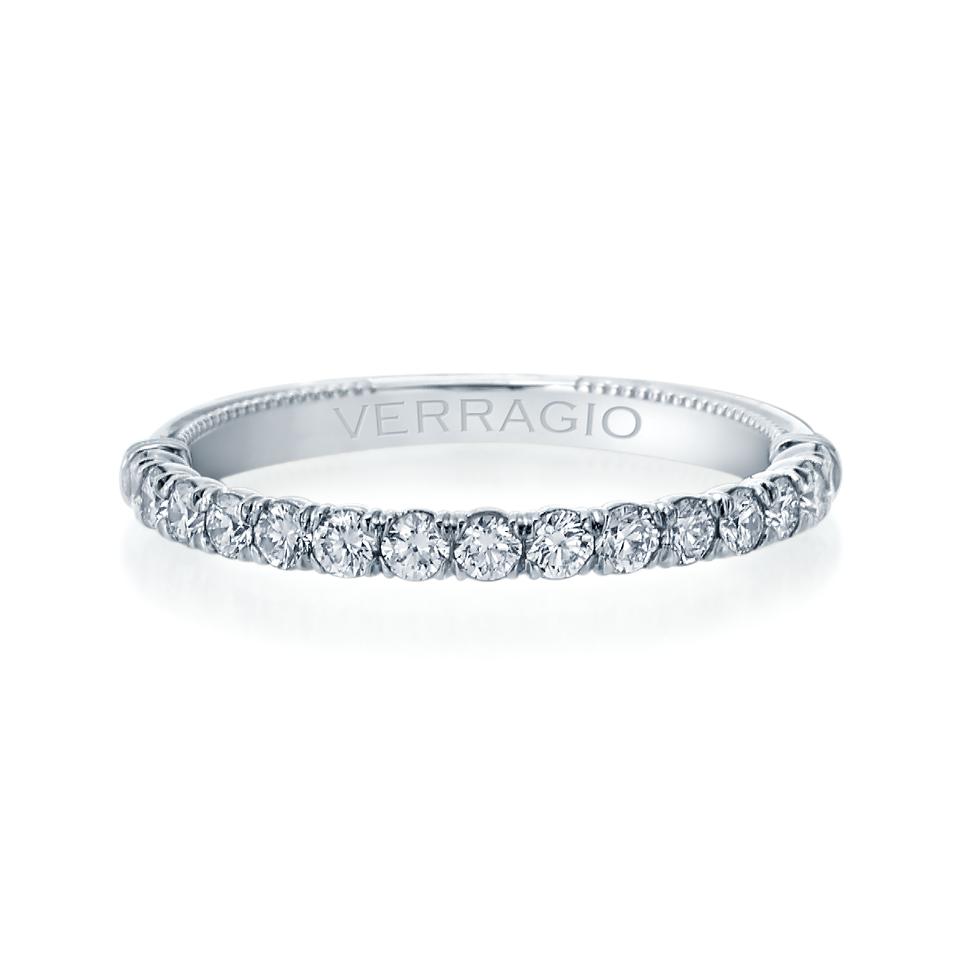 Verragio Wedding Bands.Verragio Renaissance 1 2ctw Diamond Wedding Band V 950w2