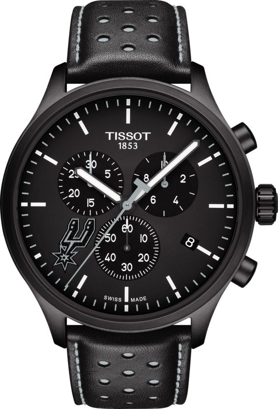 Tissot Chrono Xl Watch Nba San Antonio Spurs T1166173605104