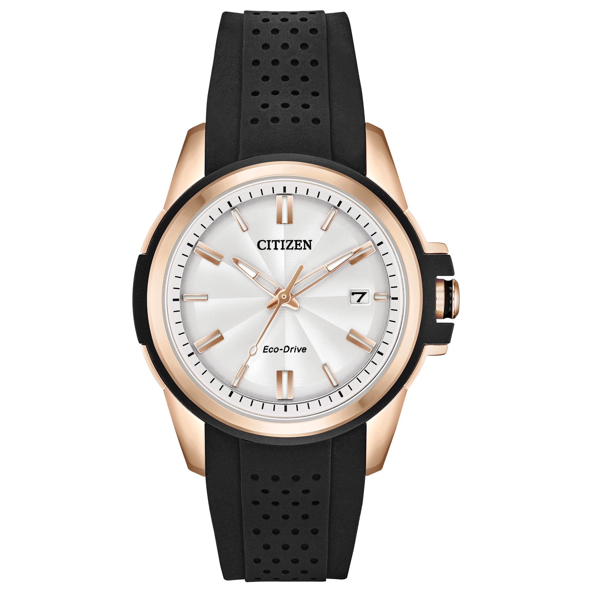 Citizen Eco-Drive® Ladies' AR Rose-Tone Watch FE6133-09A