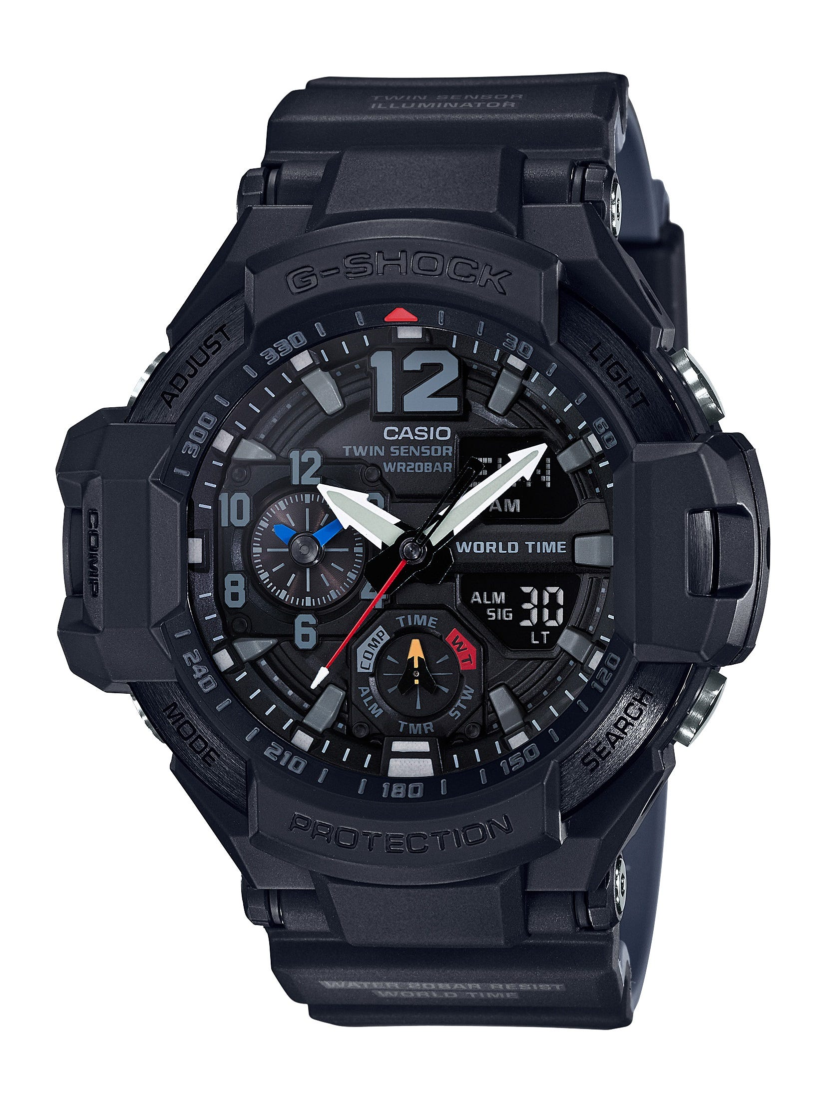 G-Shock Gravitymaster World Time Watch GA1100-1A1