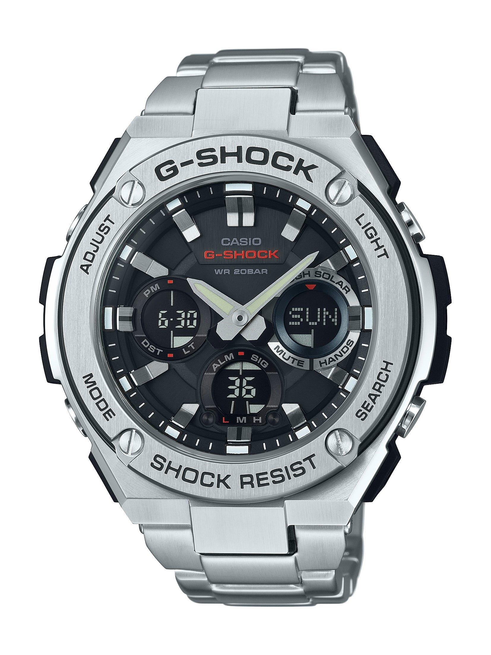 G Shock G Steel Multifunction Watch Gsts110d 1a