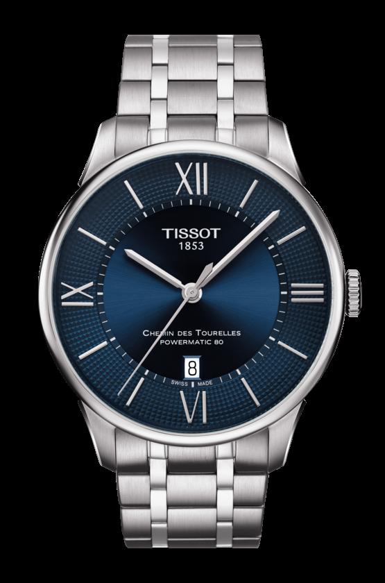 Tissot Chemin Des Tourelles Powermatic Watch 80 T0994071104800