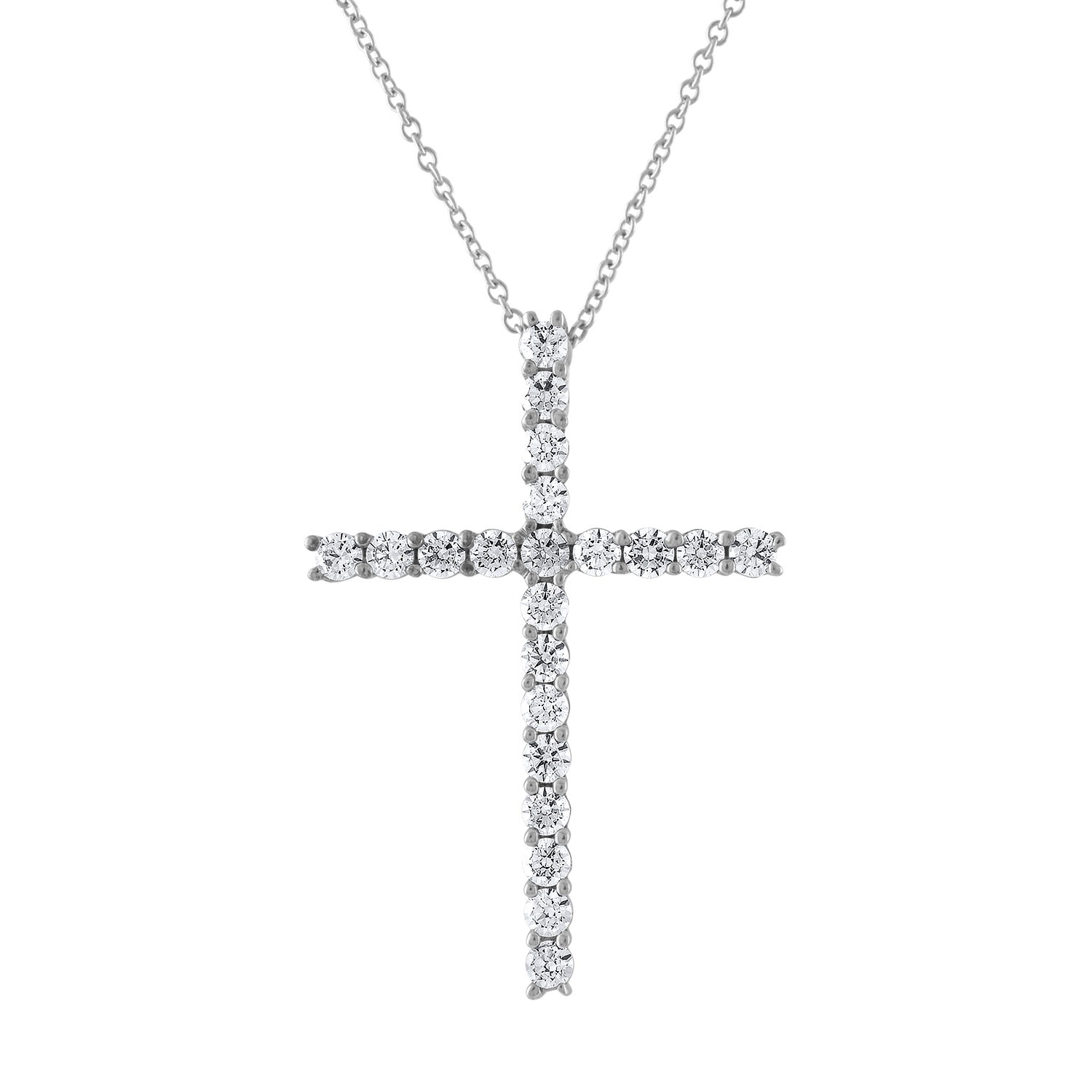 Best Designer Jewelry Sterling Silver Laser Designed Cross Pendant