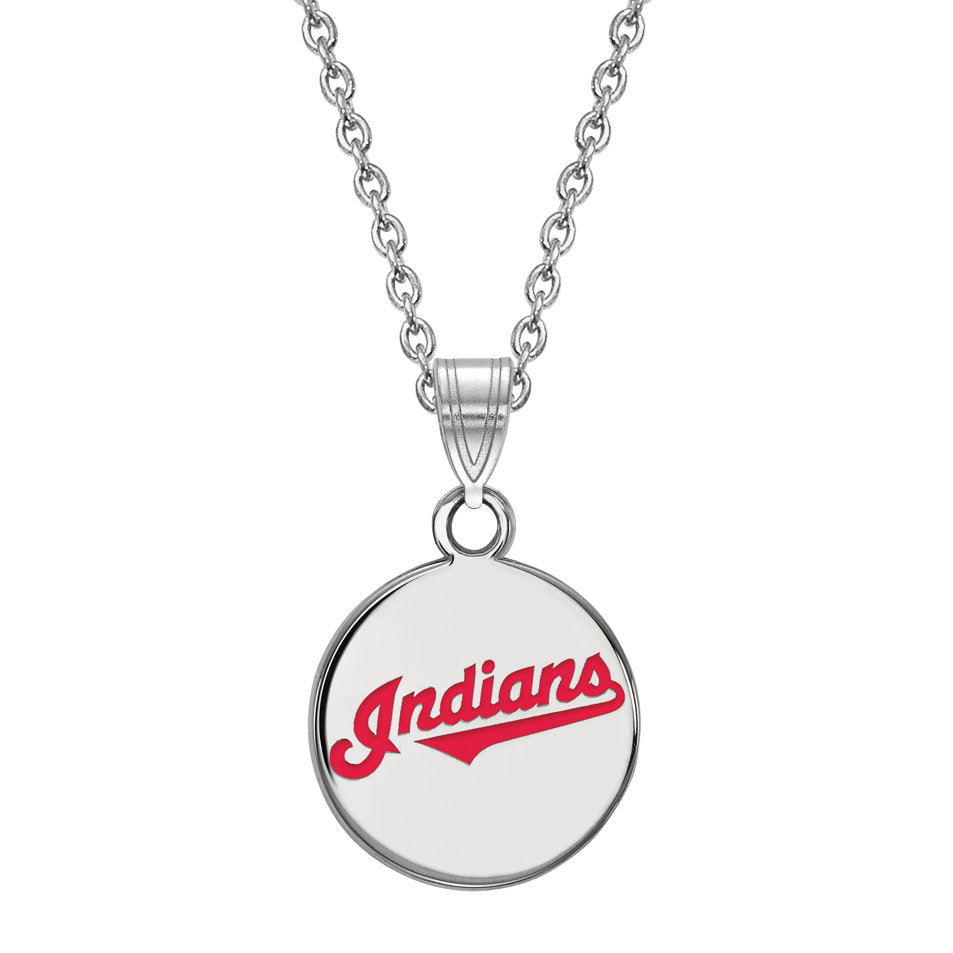 Cleveland Indians Small Disc Pendant