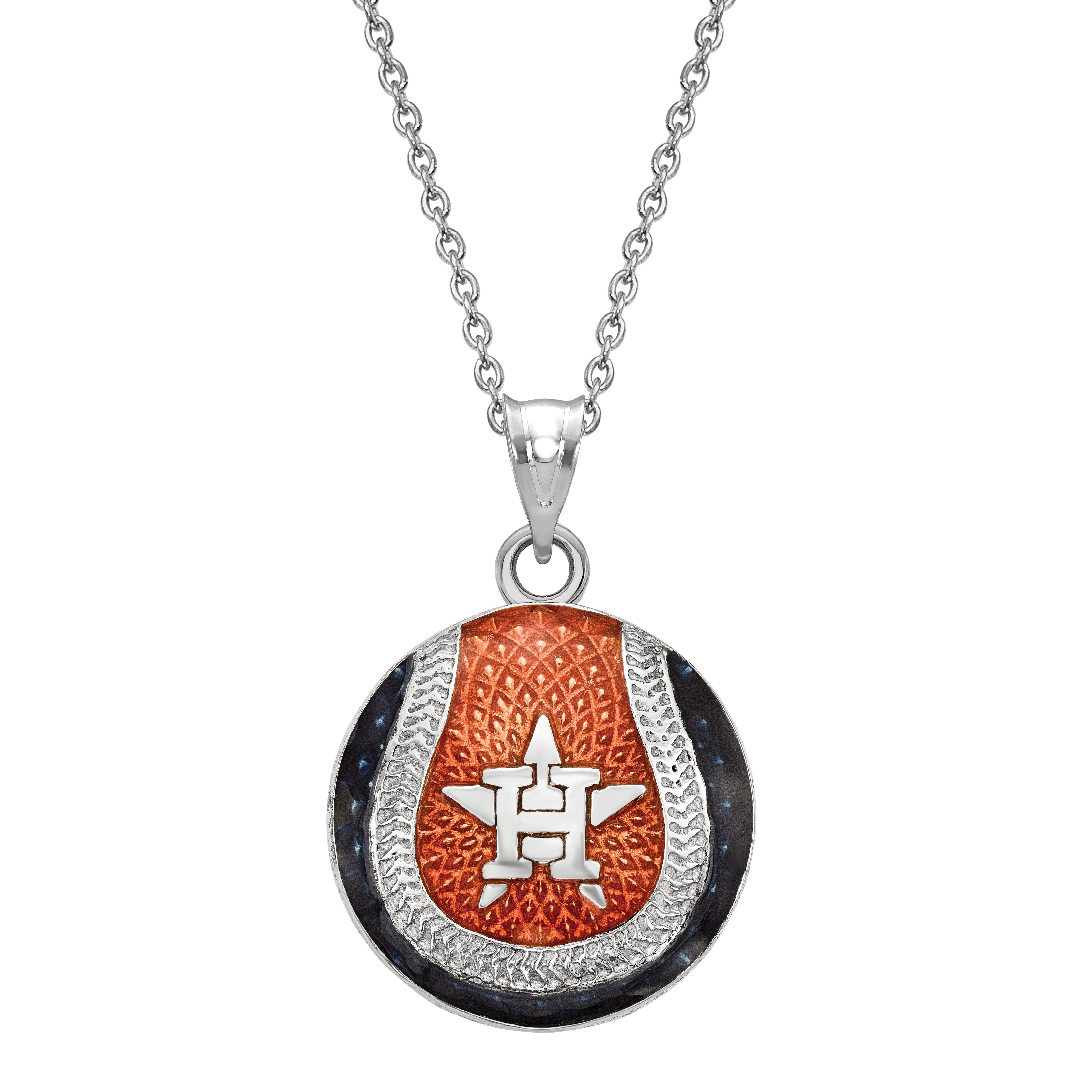 Houston Astros Pendant in Sterling Silver