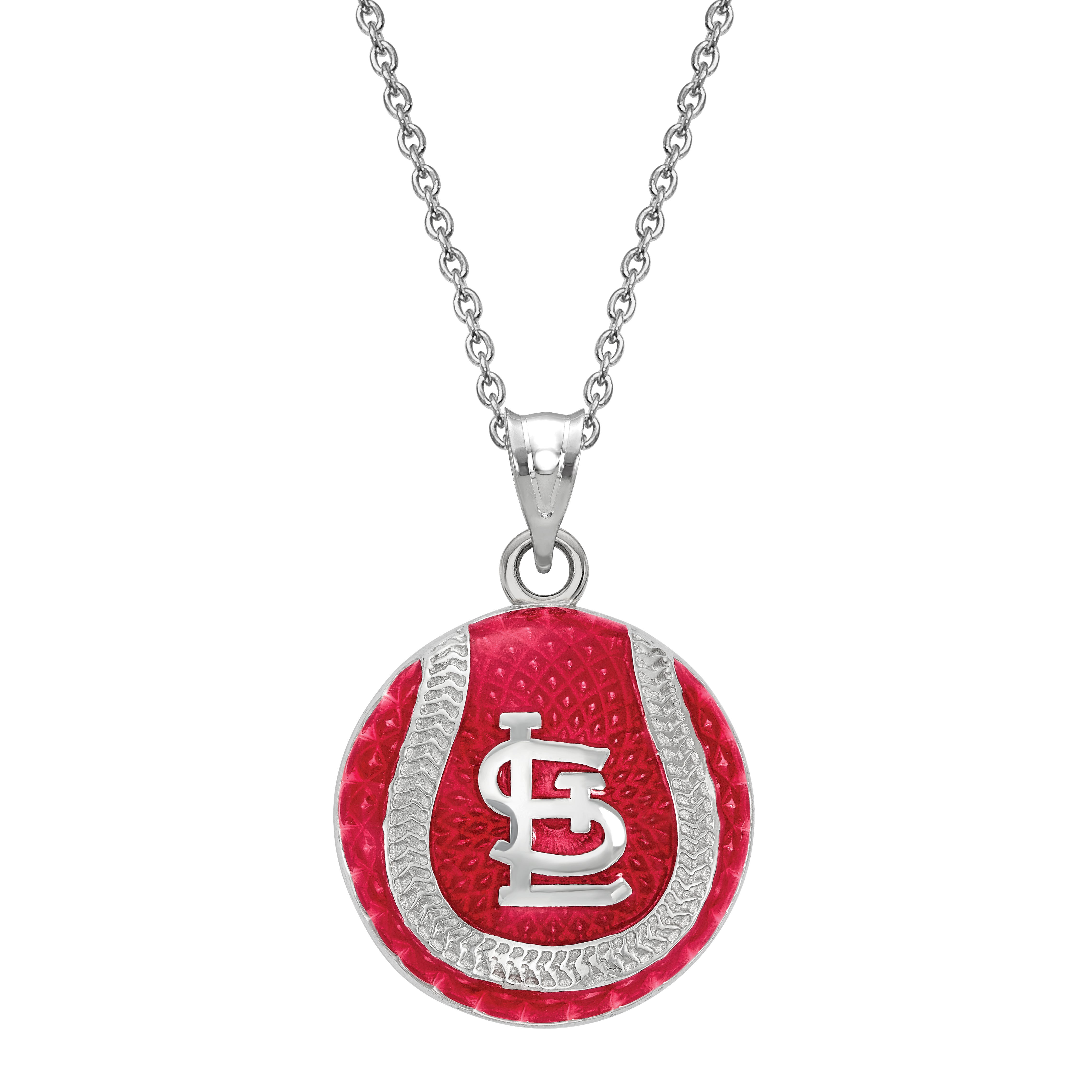 St. Louis Cardinals Pendant in Sterling Silver