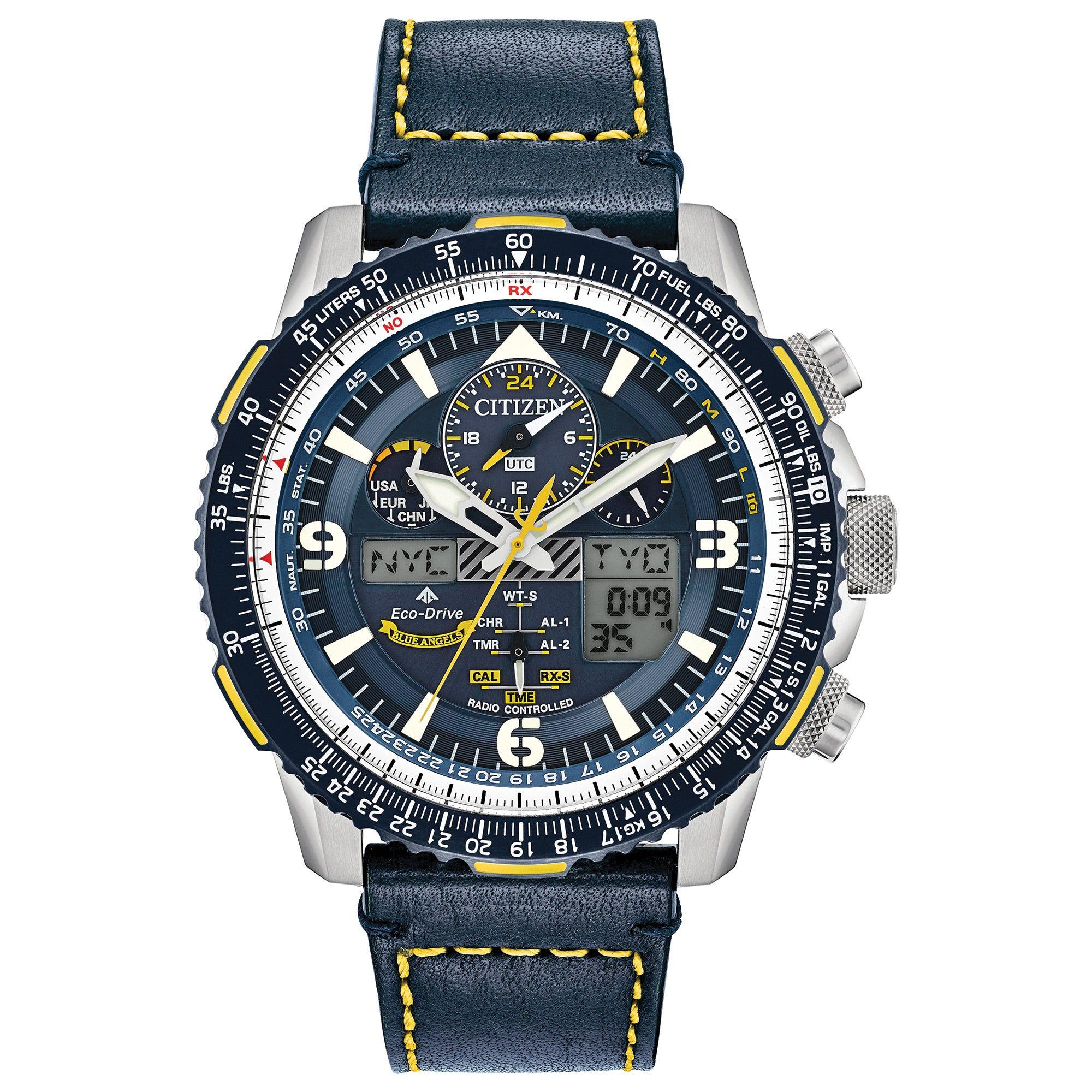 Citizen Men S Limited Edition Promaster Skyhawk A T Super Titanium Silver Watch