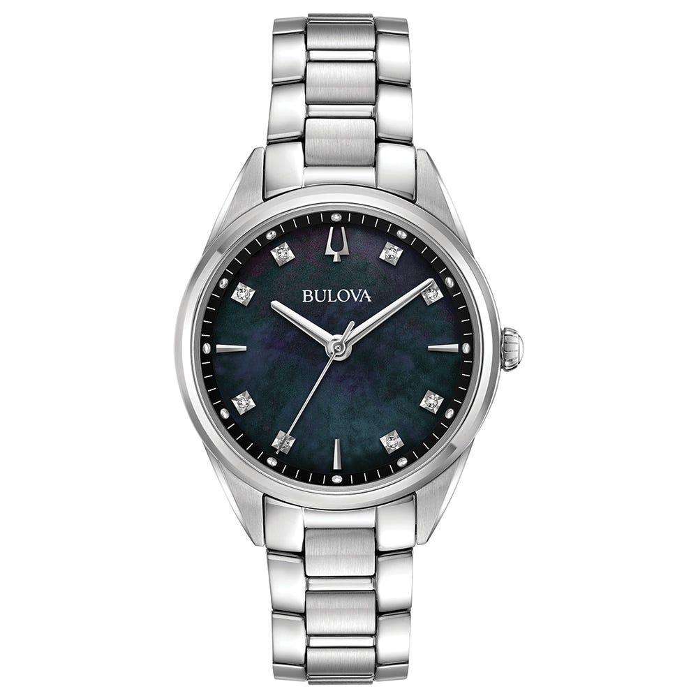 Bulova Ladies' Sutton Diamond Classic Watch 96P198